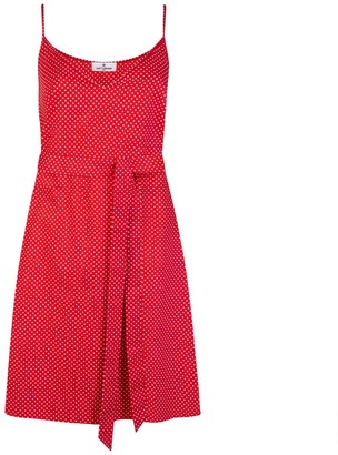 Cat Turner London Red Polka Dot Dress
