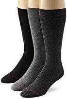 Tommy Hilfiger Men's Three-Pack Dress Socks