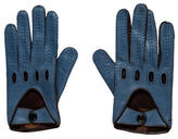 Tod's Perforated Leather Gloves