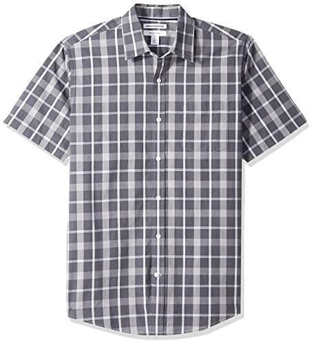 791713d555d0 Charcoal Plaid Shirt - ShopStyle