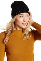 Natasha Accessories Waffle Knit Studded Beanie