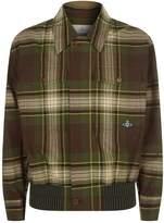 Vivienne Westwood Tartan Bomber Jacket, Green, L