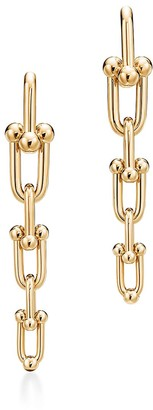 Tiffany & Co. City HardWear graduated link earrings in 18k gold
