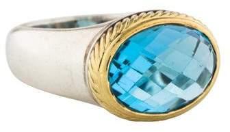 David Yurman Topaz Cocktail Ring