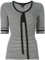 Marc Jacobs striped fine knit top