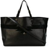 Jerome Dreyfuss Maurice tote - women - Cotton/Goat Skin/Calf Suede - One Size