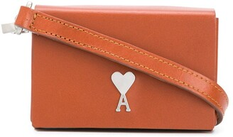AMI Paris Mini Cross-Body Bag