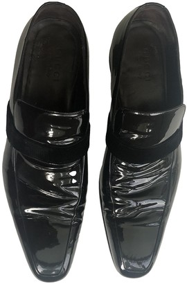 Gucci Black Patent leather Flats
