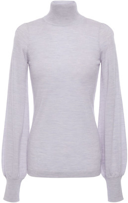Zimmermann Merino Wool Turtleneck Top