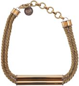 Lanvin Necklace With Application