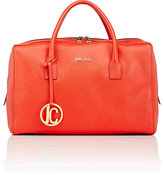Just Cavalli WOMEN'S BOXY SATCHEL-RED