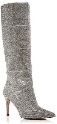 Aqua Women's Lenny Rhinestone Tall Boots - 100% Exclusive