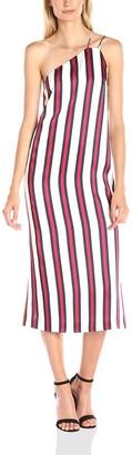 Finders Keepers findersKEEPERS Women More Time One Shoulder Midi Slip Dress