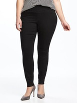 Old Navy Smooth & Comfort Plus-Size Rockstar Skinny Black Jeans