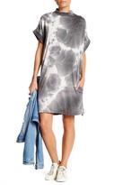 Cotton Emporium Mock Neck Jersey Shift Dress