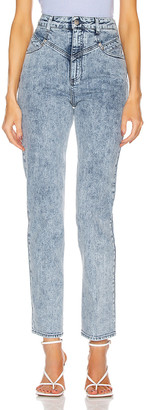 Stella McCartney Straight Denim Jean in 80s Blue | FWRD