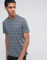 Celio Crew Neck T-shirt With Printed Stripe