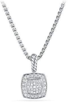 David Yurman Petite Albion® Pendant Necklace With Diamonds