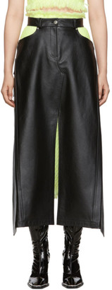 Alexander Wang Black Apron Skirt