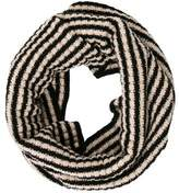 Max Mara Wool-Blend Striped Snood w/ Tags