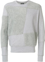 Christopher Raeburn panelled sweatshirt