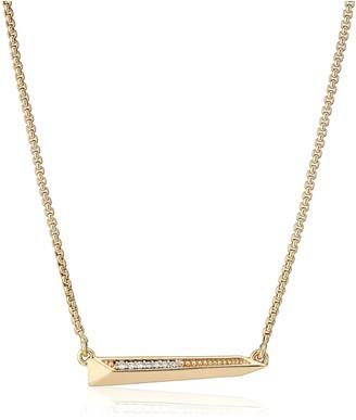 "Kendra Scott Elliot Gold Pendant Necklace 14"" + 2.5"" Extender"