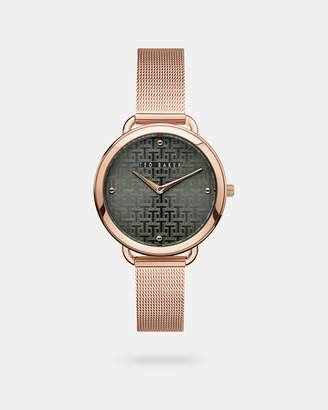 Ted Baker HETTTIE Milanese mesh band watch