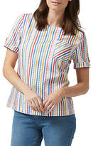 Sugarhill Boutique Petra Candy Stripe Top, Multi