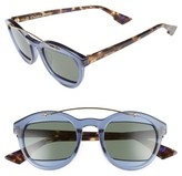 Christian Dior Women's Mania 50Mm Sunglasses - Blue/ Green/ Havana