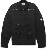 Cav Empt Embroidered Denim Field Jacket