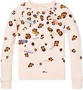 Scotch & Soda Placement Print Sweatshirt