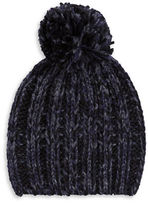 Rebecca Minkoff Pom Pom Accented Slouch Hat