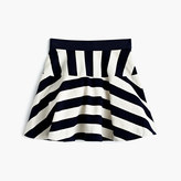 J.Crew Girls' directional-stripe pull-on skirt