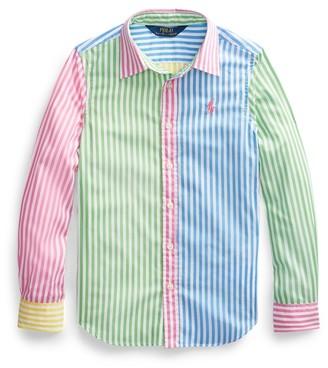 Ralph Lauren Cotton Poplin Fun Shirt