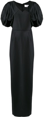 Chalayan Drape Shoulder Dress