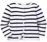 Joe Fresh Striped Cardigan (Baby Girls 3-12M)