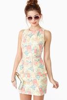 Sweet Bloom Peplum Dress