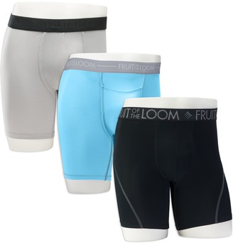 Fruit of the Loom Men's Signature Everlight Go Active 3-pack Boxer Briefs
