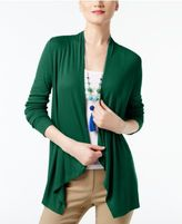 INC International Concepts Draped Cardigan, Created for Macy's