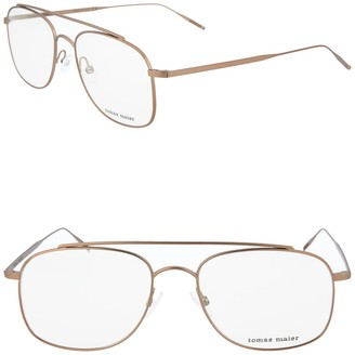 Tomas Maier 53mm Metal Frame Aviator Optical Frames