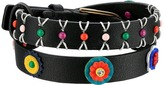 Tory Burch Millefiori Leather Double Wrap Bracelet