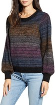 Rails Hailey Rainbow Stripe Wool & Mohair Sweater