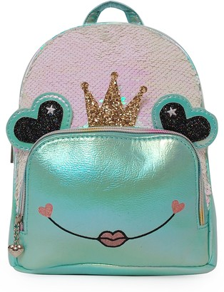 OMG Accessories OMG Queen Lily the Frog Mini Backpack