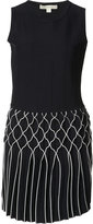 Jonathan Simkhai diamond pleated dress - women - Nylon/Rayon - S