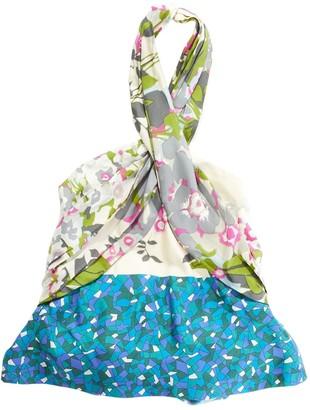Dries Van Noten Green Silk Top for Women