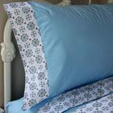 Caden Lane Modern Vintage Sheet Set in Blue
