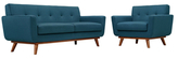 Modway Engage Armchair and Loveseat Set (2 PC)