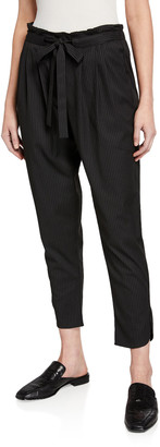 Ramy Brook Allyn Pinstripe Pants