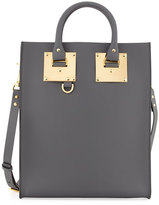 Sophie Hulme Mini Albion North-South Tote Bag, Charcoal