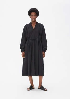 Black Crane Poet Dress